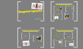 Copy of Management Approaches