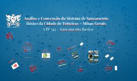 Análise e Concepção do Sistema de Saneamento Básico da Cidade de Teixeiras