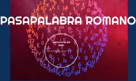 Copy of PASAPALABRA ROMANO