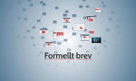 Att skriva ett formell brev, SFI