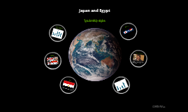 Japan and Egypt