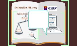 Resultados PIE 2015
