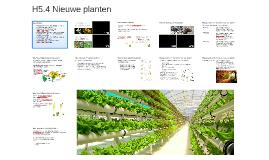 H5.4 Nieuwe planten