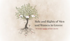 Role and Rights of Men and Women in Greece