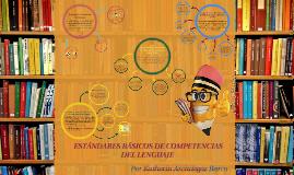 Estándares Básicos de Competencias del Lenguaje.