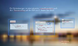 Die Veränderungen im internationalen Linienflugverkehr nach