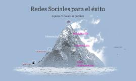 Redes Sociales para el éxito