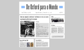 De Oxford para o Mundo