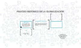PROCESO HISTÓRICO DE LA GLOBALIZACIÓN