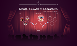 Mental Growth of Characters