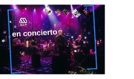 Mega en concierto