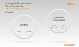 Sentidos comunes sobre la comunicación