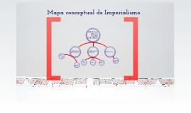 mapa conceptual de imperialismo
