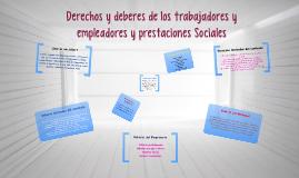 Copy of Copy of Derechos y deberes de los trabajadores y empleadores