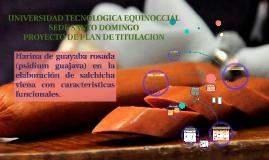 Harina de guayaba como ingrediente funcional en la elaboraci