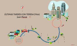 ÚLTIMAS TARDES CON TERESA (1966), Juan Marsé