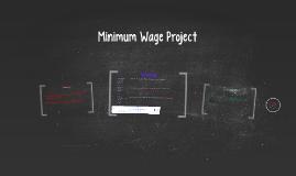 Minimum Wage Project