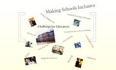 Making Schools Inclusive