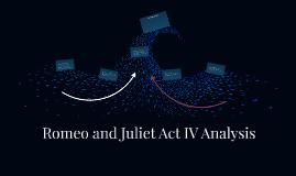 Romeo and Juliet Act IV Analysis