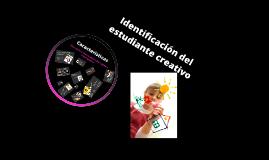 Identificación de estudiantes con características creativas