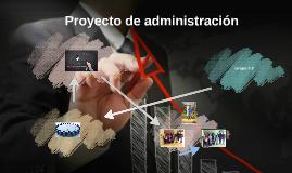 Proyecto de administración