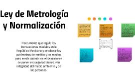 Ley de Metrología