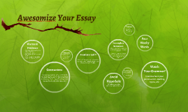 Awesomize your Essay!