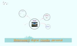 Microsoft International Summit 02-11-2016: Molenwaard, digital, closeby, personal