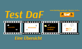 Copy of Test DaF - Übersicht