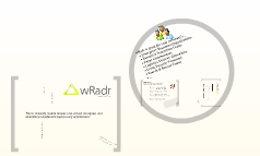 wRadr Team Edition