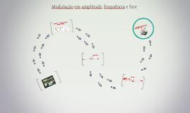 Modulação em amplitude, frequência e fase