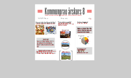 Kommunprao årskurs 8