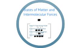 Chem11: Change of State