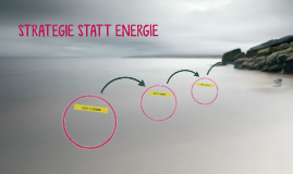 STRATEGIE STATT ENERGIE