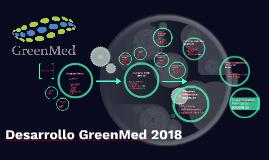 Desarrollo GreenMed 2018