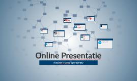 Online Presentatie