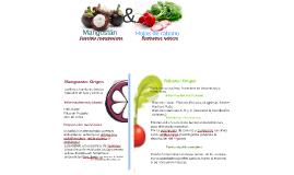 Mangostán y Hojas de rábano