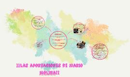 Copy of LAS APORTACIONES MARIO MOLINA