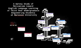A Survey Study of Motivation