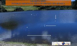 Delimitación de Áreas de Interés Hídrico
