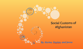 Social Customs of Afghanistan