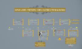 LINEA DEL TIEMPO  ESTRUCTURALISMO