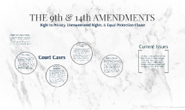 THE 9th & 14th AMENDMENTS