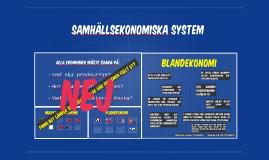 Samhällsekonomiska system