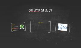 COTEMSA SA DE CV