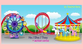 Pronouns for Pre-school
