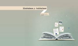 Copy of Sinónimos y Antónimos