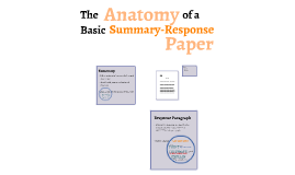 EAP4 The Anatomy of a Basic Summary-Response