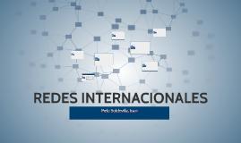 REDES INTERNACIONALES