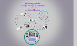 """""""Mon Avatar en littérature et Moi  / Me and Myself in lit"""", un projet d'EMI à Chypre"""